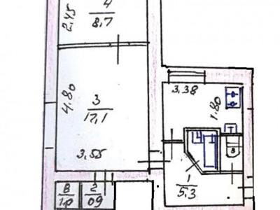 Продам 2-кімн.квартиру, пр. Соборний, р-н Лахті