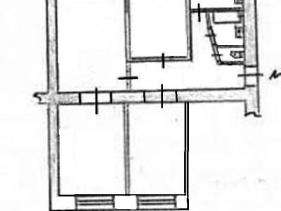 Продам 4-кімн.квартиру в центрі Космічного мкрн, вул. Ситова
