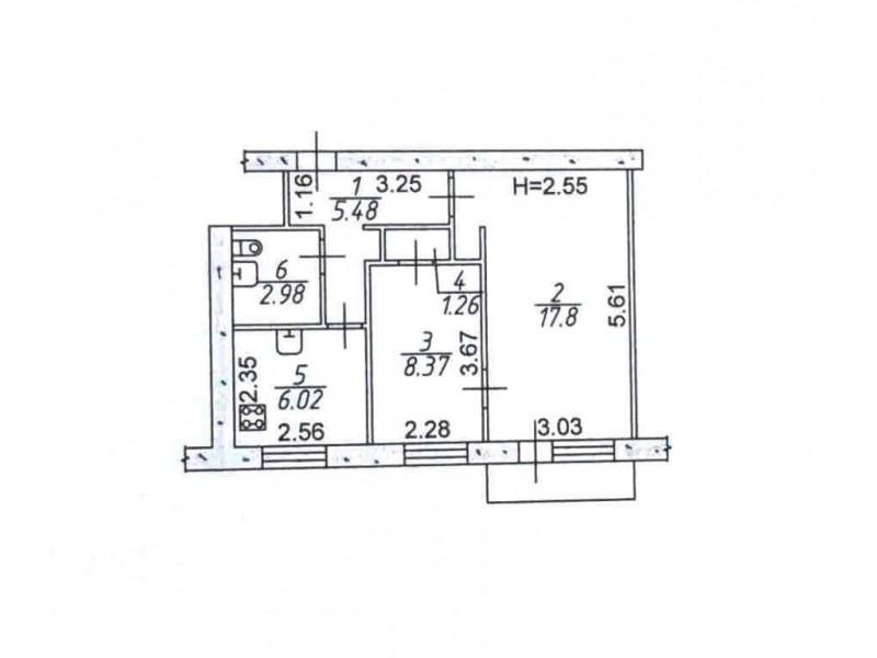Продам 2-кімн.квартиру в Возн.р-ні, вул. Патріотична, р-н АТБ
