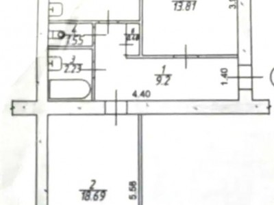 Продам 2-кімн.квартиру по вул. Сталеварів