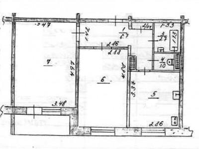 Продам 2-кімн.квартиру в Олександрівському р-ні, вул. Дніпровська (раніше Лепика)
